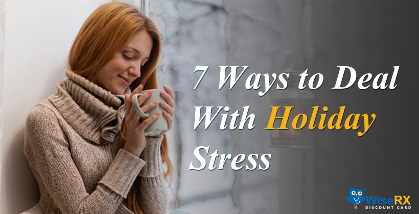 Deal with holiday stress