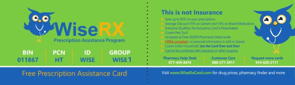 Wiserx Card