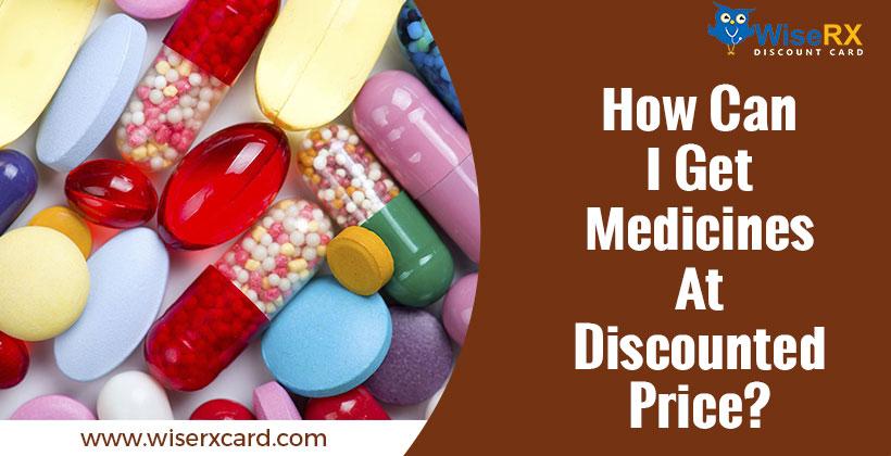 Discount on medicines