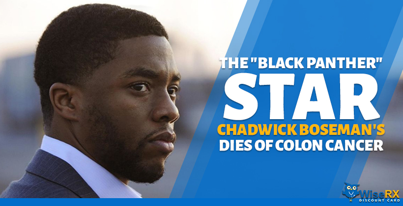 "The ""Black Panther"" Star Chadwick Boseman's Dies of Colon Cancer"